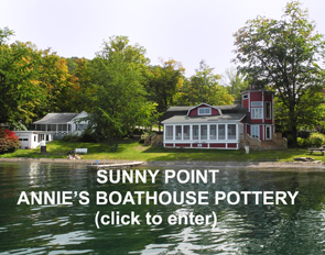 Annie's Boathouse Pottery - Sunny Point